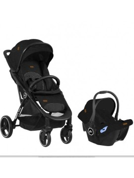 Kraft Solid Travel Sistem Bebek Arabası Black