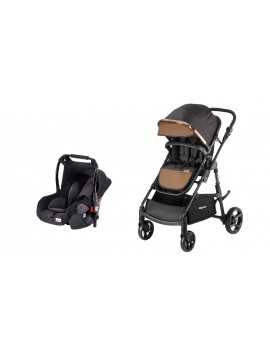 Baby Care BC330 Safari Cross Travel Sistem Bebek Arabası Siyah